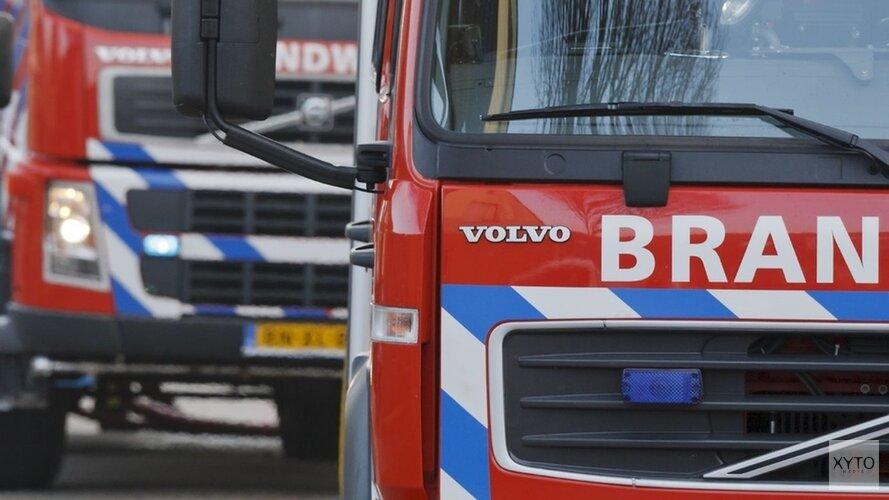 Bestelbus volledig uitgebrand in Den Helder