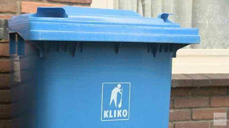 Pakketje bezorgd in kliko, maar weggegooid door vuilnismannen