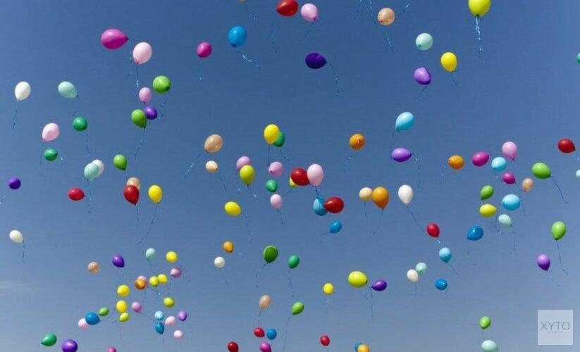Den Helder verbiedt oplaten van ballonnen tijdens feesten en evenementen
