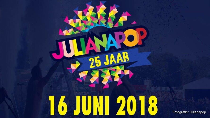 Julianapop 2018 is uitverkocht