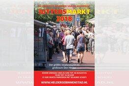Iedere dinsdag van 26 juni t/m 28 augustus de Juttersmarkt in de Helderse Binnenstad