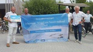 Schoonste strand van Noord-Holland ligt in Den Helder