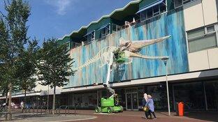 Street Art maakt Den Helder weer een stuk aantrekkelijker