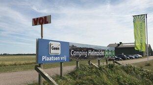 Campings langs kust platgebeld voor laatste plekjes