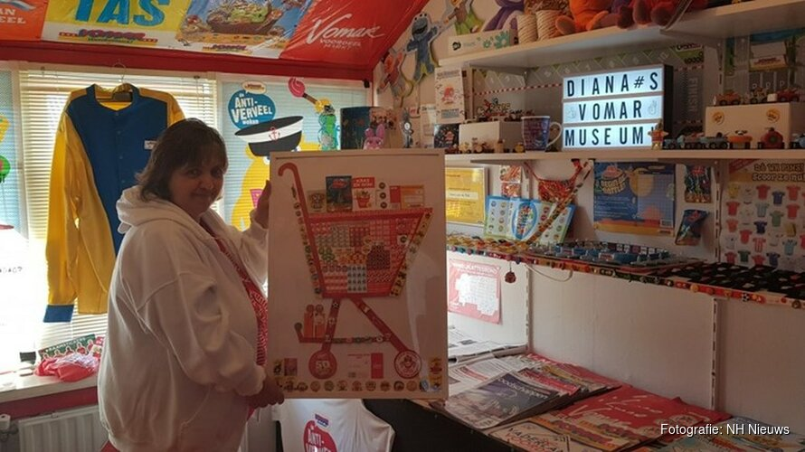Vomar-fan opent eigen museum in Den Helder