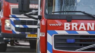 Veel rook bij autobrand in Den Helder