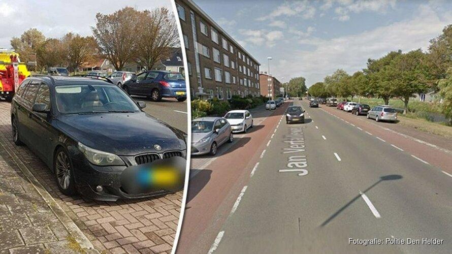 Dwarse automobilist negeert politie en stapt toch in afgekeurde auto