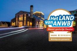 Theater De Kampanje wint prijs voor meest gastvrije theater van Nederland in de categorie middelgrote gemeente