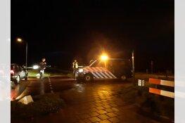 N9 bij Callantsoog afgesloten voor verkeer vanwege gaslek in weiland