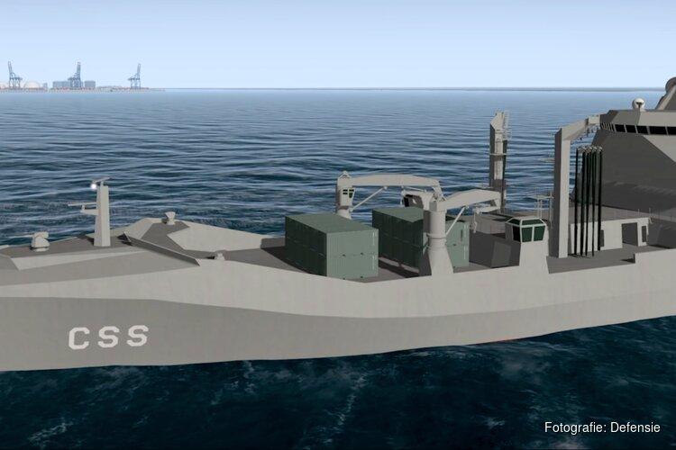 Nieuw marineschip krijgt de naam Zr.Ms. Den Helder