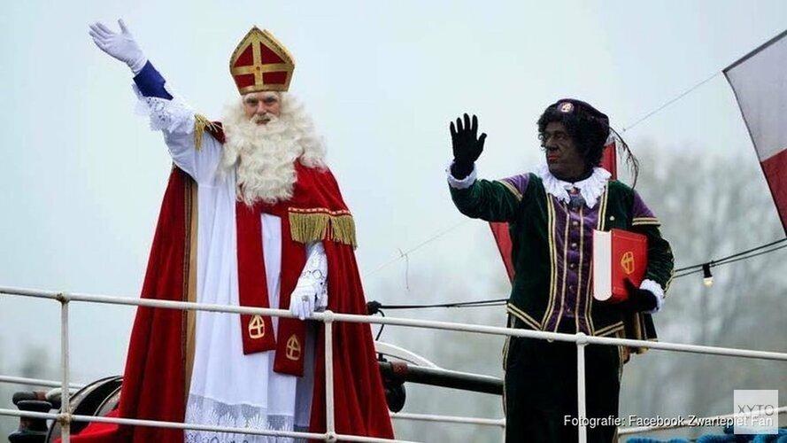 Toch demonstratie in Den Helder tijdens intocht Sinterklaas