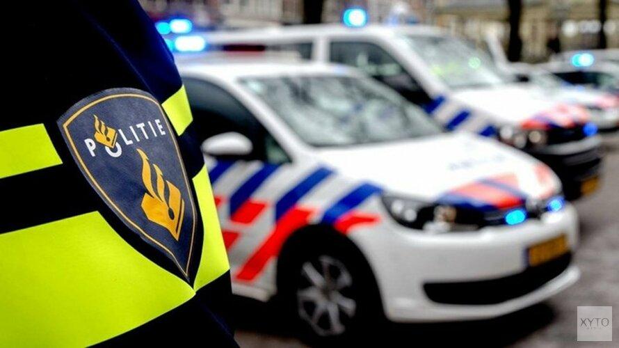 Bus met anti-Pietdemonstranten van weg gehaald door agenten bij Alkmaar