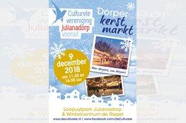 Dorperkerstmarkt 9 december