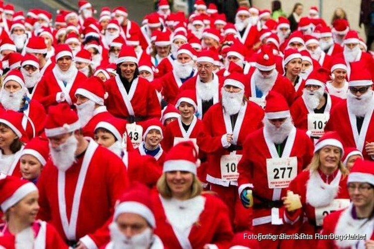 Zondag wordt de 6de Den Helder Santa Run gehouden