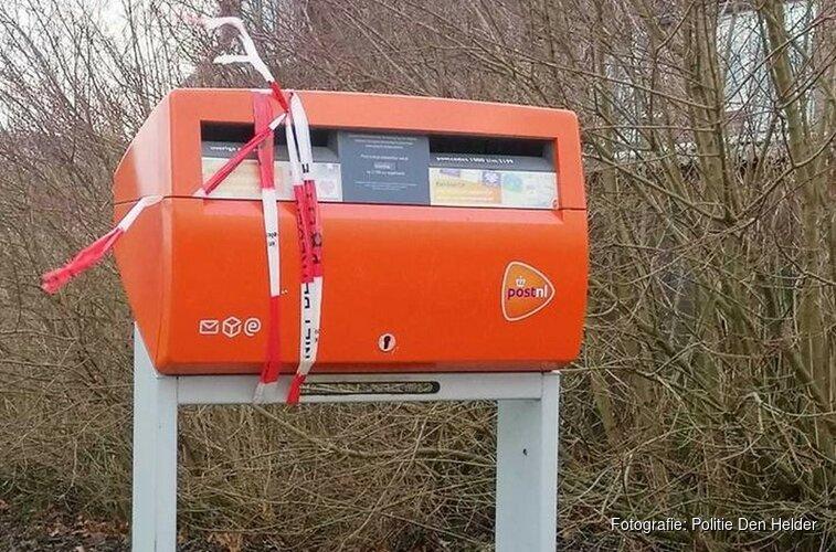Jongens aangehouden voor vernieling brievenbus
