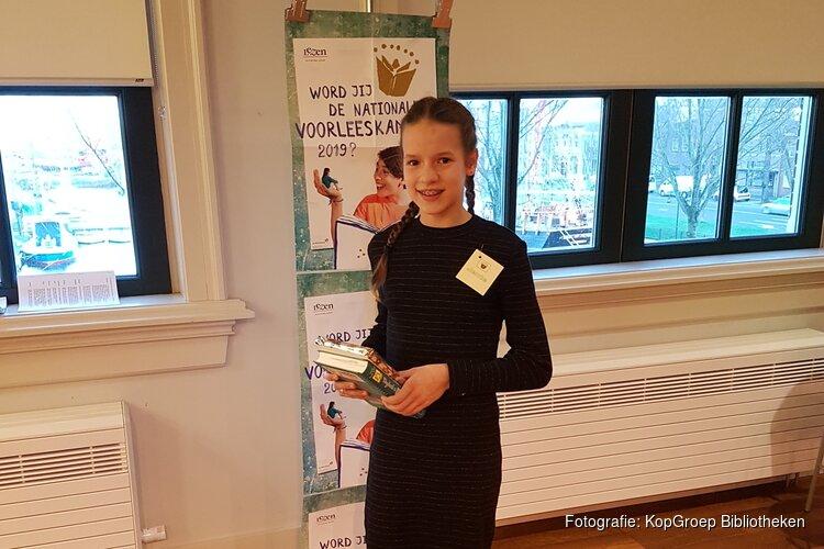 Jente wint eerste voorronde Helderse voorleeswedstrijd