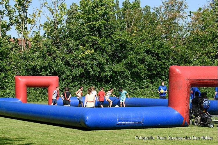 Sport- en speldag bij JVC in plaats van staken!