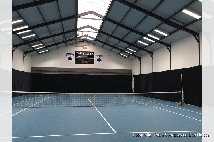 Verlichting vernieuwd in Tennishal 't Schapendijkje